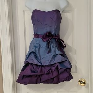 Sequin Hearts Strapless Dress
